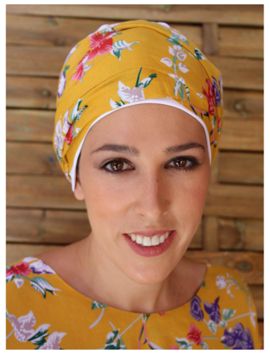 TURBANTE PAÑUELO CANCER GRETA