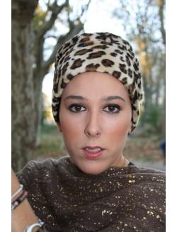 JUNKO de Vita turbante oncologico estampado print