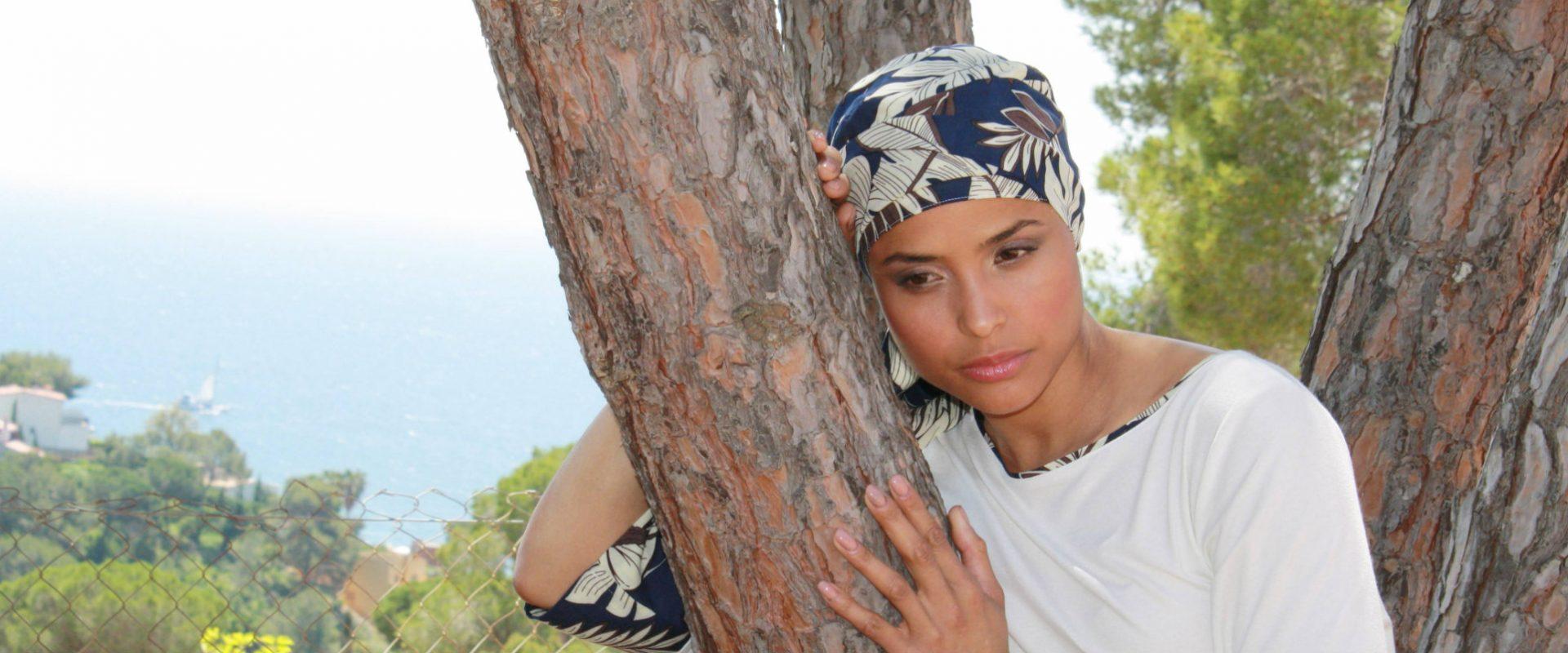 turbante oncologico  pañuelo quimio